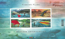 Canada 2005 Fishing Flies Souvenir Sheet Used