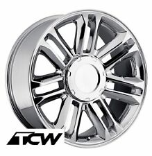 "(1) 22"" inch 22x9"" Cadillac Escalade Platinum OE Replica 5358 Chrome Wheel Rim"