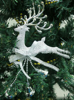 Cute Fashion Christmas Tree Ornament Deer Chital Hanging Xmas Party Decoration