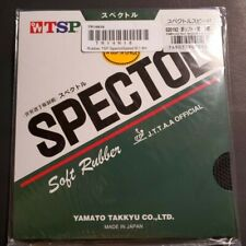 New listing TSP Spectol Speed Sponge Table Tennis Rubber, BLACK 1.8