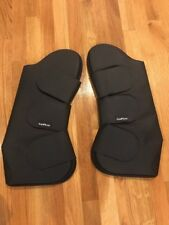 New EquiFit T-Foam Shipping boots pair front, cob
