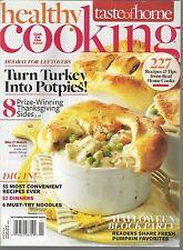 Taste of Home Healthy Cooking October November 2012 Halloween Block Party/Potpie