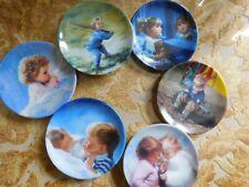 Pemberton & Oaks Donald Zolan Miniature Collector's Plates set of Six