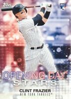 2018 Topps Opening Day Baseball Stars #ODS-CF Clint Frazier New York Yankees