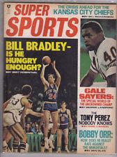 Super Sports - Dec 1970 Bill Bradley & Gale Sayers Cover