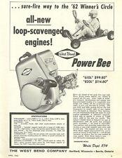 Vintage 1960's West Bend 610L & 820L Go-Kart Engine Ad