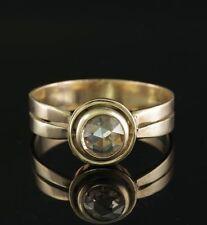 Diamond Rose Gold Victorian (1837 - 1901) Fine Rings