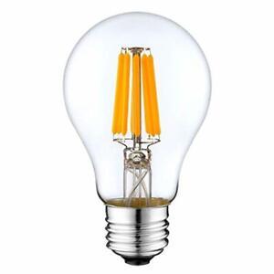 DC 12V Light Bulb A19 A60 3000k 4W Warm White LED Edison Filament E26 Screw Base