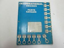 International Harvester Model C-153 Skeleton Service Engine Parts Catalog Manual
