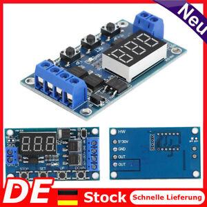 HW-516 Dc 12V 24V LED Zeitverzögerung Relais Trigger Cycle Timer Schalter Modul