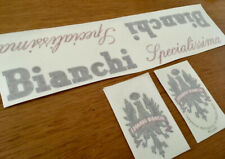 Bianchi Specialissima Campagnolo Decal Stickers