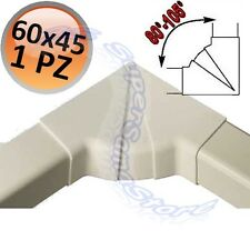 3S ANGOLO INTERNO REGOLABILE 80°-105° X CANALINA 60X45