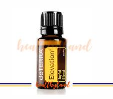 FREE POST doTERRA Elevation 15ml Therapeutic Grade Essential Oil Aromatherapy