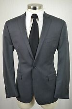 (42R) Ryan Seacrest Men's Charcoal Gray Wool SLIM FIT Blazer Sport Coat Jacket