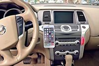 Magnetic Cell Phone Holder For All Phone Sizes 3 Metal Plates Car Driving