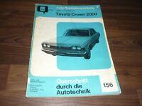 TOYOTA CROWN 2000 ca. 1967 Motor Getriebe Fahrwerk WERKSTATT HANDBUCH Bucheli