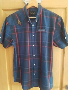 Men's Luke 1977 short sleeve shirt in excellent used condition size medium
