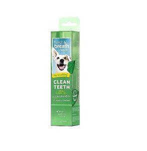 Fresh Breath Clean Teeth 2 oz Gel Oral Care for Dogs No Brushing Dental Health