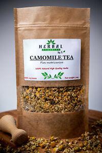Camomile Tea 100% Natural Dried Herb Chamomile/Rumianek koszyczek 50g