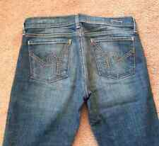 Women's Citizens of Humanity 28 Kelly #001 blue jean stretch low waist bootcut