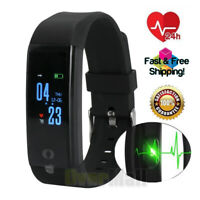 US Fitness Smart Band Watch Bracelet Wristband Blood Pressure Heart Rate Tracker