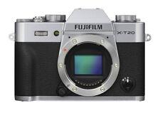 Fujifilm X-t20 Mirrorless Digital Camera Body Only Silver 16gb SD Card