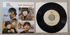 BEATLES YESTERDAY VINTAGE MEXICAN EP 45 RECORD RE13