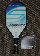 Selkirk Amped X5 Maxima Pickleball Paddle  Lightweight  Fiber Flex Sapphire Blue
