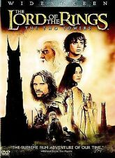 Lord of the Rings: The Two Towers (DVD, 2008, 1 DISC) ;  ACCEPTABLE