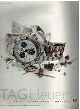 Publicité Advertising 1997 La Montre Tag Heuer Serie 2000 Chronographe