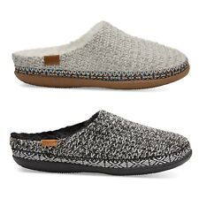 TOMS Womens Ivy Birch Or Black White Wool Sweater Slippers Various Sizes