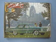 1961 Chevrolet Dealer Album Impala Bel Air Biscayne Corvette Corvair Book