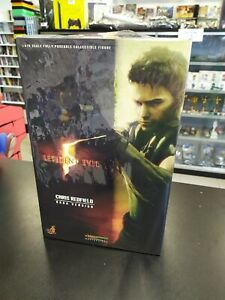 Figura Chris Redfield BSAA Version HOT TOYS Resident Evil 5