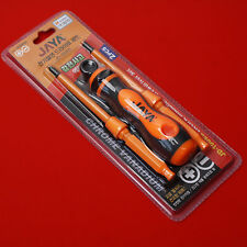 Electric Insulated Screw Driver Set Tools shock accident 1000V Safety