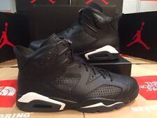 Nike Air Jordan 6 Retro Negro/Negro Blanco VI Nuevo en Caja ds