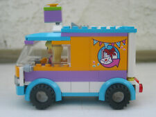 Lego Custom MOC Cake Bakery Delivery Truck And Cute Girl Driver minifig EUC
