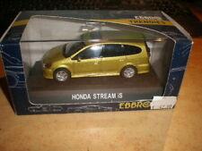 EBBRO #164 1:43 Honda Stream IS Gold  MIB (ds19/N0226)