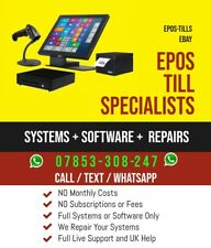 EPOS TILL POS Touch Screen Systems+ SOFTWARE PIZZA COFFEE BAR SHOP CHINESE SALON