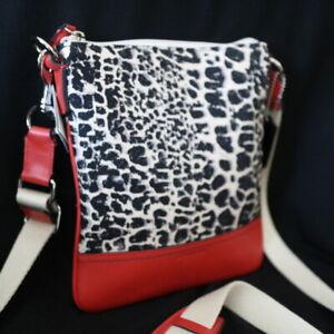 NWT COACH Legacy Ocelot Cheetah Printed Swingpack Crossbody Swing Bag Purse NEW
