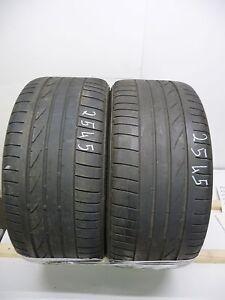 2x 245/45 R18 88Y Bridgestone Potenza RE050A