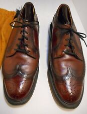 50's Vintage Royal Imperial O'Sullivan's Wingtips Oxford Shoes size 10D Leather