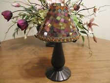 PARTYLITE GLOBAL FUSION MOSAIC TEALIGHT LAMP