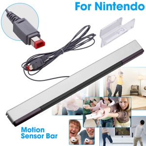 Wired Remote Motion Sensor Bar IR Infrared Ray Inductor for Nintendo Wii U/ Wii