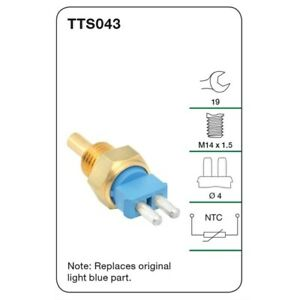 Tridon Water Temperature Sender TTS043 fits SsangYong Musso 3.2