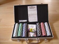 Aluminium Pokerkoffer mit 300 Chips -- Cardinals Texas Hold´Em  Tournament Poker