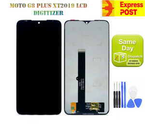 OEM MOTOROLA MOTO G8 PLUS XT2019-1, -2 LCD DISPLAY+TOUCH SCREEN DIGITIZER BLACK
