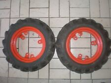 Agria 2400 1700 2600 1600 4000 6000 Räder Felgen Reifen VEITH 4,00-12 Einachser