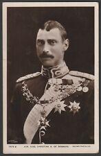 KING CHRISTIAN X of DENMARK Royalty postcard