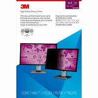 """3M™ High Clarity Privacy Filter for 21.5"""" Widescreen Monitor (hc215w9b)"""