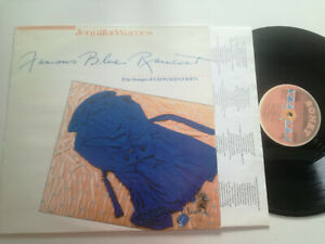 JENNIFER WARNES The Songs Of Leonard Cohen SWEDEN LP VINYL 1986 Famous Blue Rain